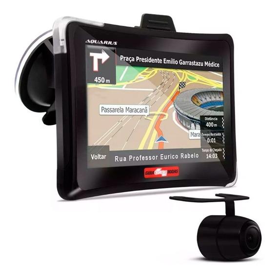 Gps Automotivo Quatro Rodas Com Câmera De Ré Tv Digital 7