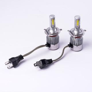 Kit Cree Led H4 6ta Gen Cooler Alta Y Baja Iluminacion Autos Crled C6-h4-120