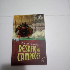 Livro - Desafio Dos Campeões - Coleção Fighting Fantasy