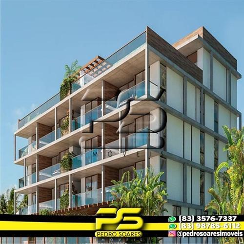 Apartamento Com 2 Dormitórios À Venda, 124 M² Por R$ 1.340.000 - Camboinha - Cabedelo/pb - Ap2785