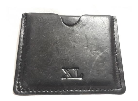 Billetera X L Espejo Cuero Xl 10 Cm Cartera