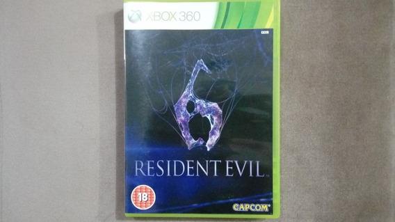Jogo Resident Evil 6 Xbox 360 Originais