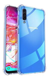 Funda Para Samsung Anti Golpes A70 A30 Y Mas + Vidrio Templado