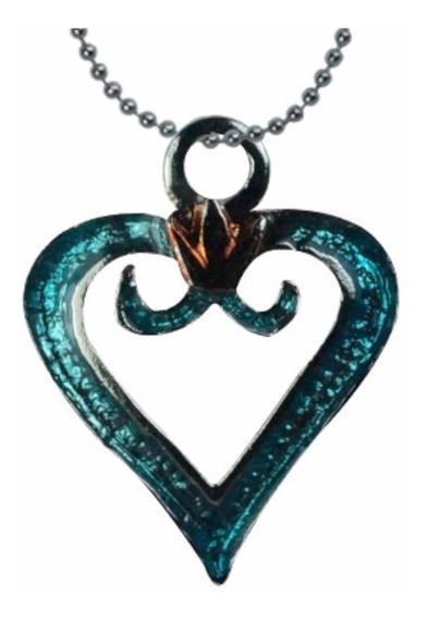 Kingdom Hearts Collar Dije Llavero Phonestrap Llave Corazon