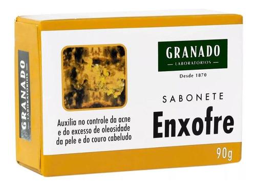 Sabonete Granado Tratamento Enxofre Barra, 90g