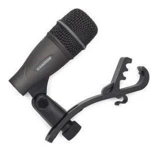 Microfono Percusion Baterias Samson Q72 Con Clamp