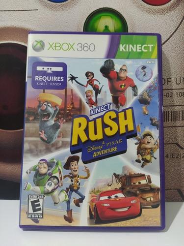 Kinect Rush Disney Pixar Xbox 360 Original Físico Usado