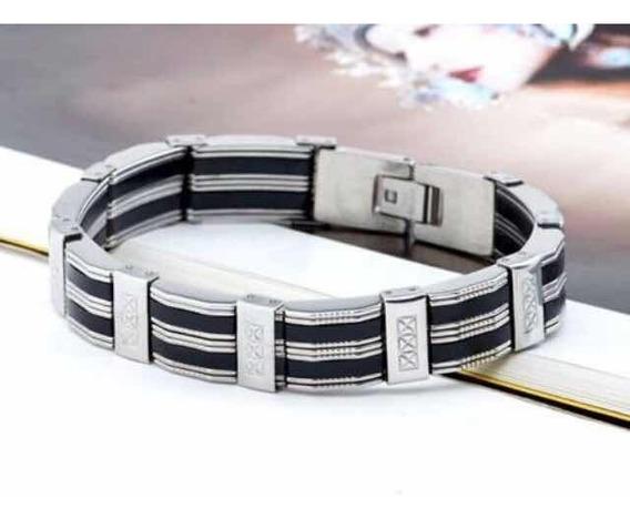 Pulseira Masculina Aço Inoxidável Bracelete 316l Promoção