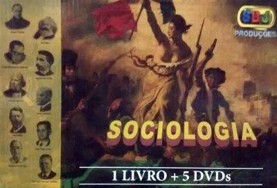 Box Kit Didático Sociologia Sbj + Brinde