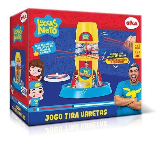 Jogo Lucas Neto Original Tira Varetas Elka