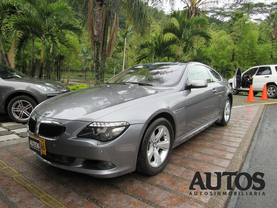 Bmw 630i Coupe Aut Sec Cc3000