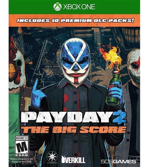 Payday 2 + The Big Score Dlc Packs - Xbox One Lacrado