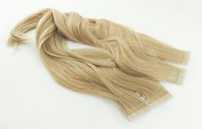 Mega Hair Nanopele 40pc Adesivo Cabelo Humano 90g 50cm