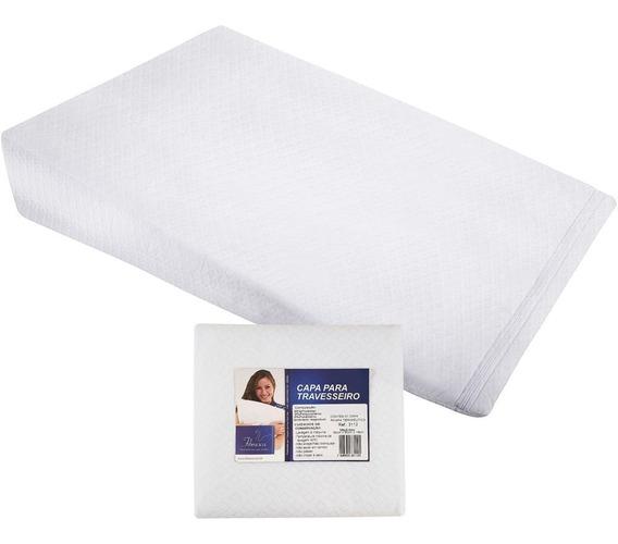 Capa Para Travesseiro Anti-refluxo Adulto Fibrasca