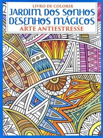 Livro De Colorir Jardim Dos Sonhos - Nº03