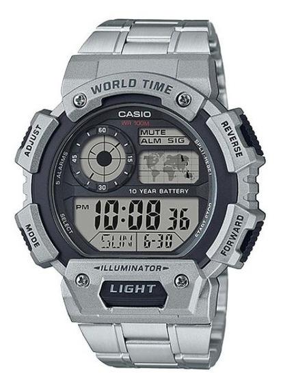 Relogio Casio Ae-1400whd-1avdf - Prata