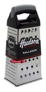 Rallador De 4 Caras Acero Inoxidable Hudson Mango Ergonómico