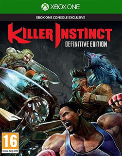 Juegos,killer Instinct Definitive Edition (xbox One)