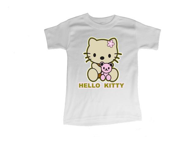 Playera Para Niñas Estampado Hello Kitty