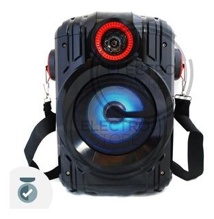 Parlante Portatil Bafle Recargable Usb Bluetooth Karaoke 30w