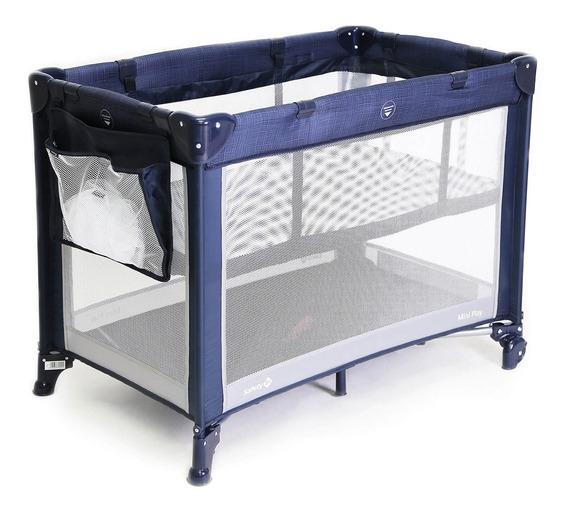 Berço Portátil Mini Play (até 15kgs) Safety 1st Net Blue