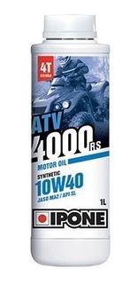 Aceite Sintetico 4 Tiempos Atv 4000 10w40 Ipone Juri Atv