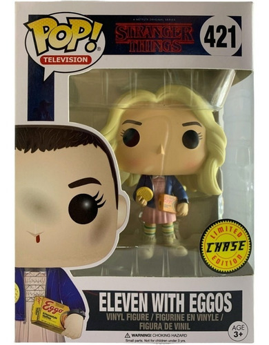 Eleven With Eggos - St -  Ed Lim - Funko Pop #421 Collectoys
