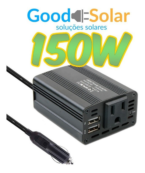 Inversor Off Gride 150w 12v/220v Good Solar