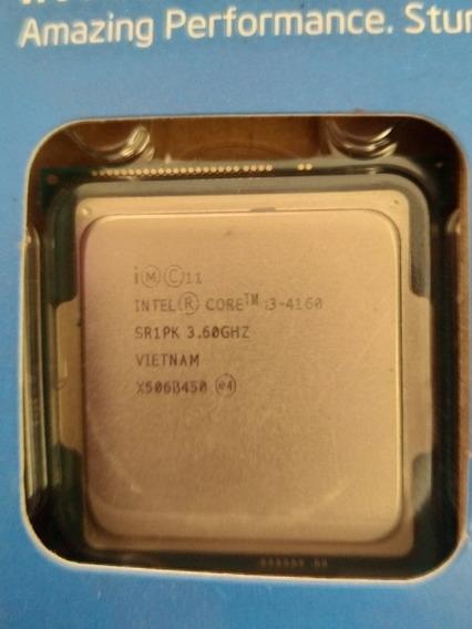Processador Intel I3 4160 3,60 Ghz, Lga 1150