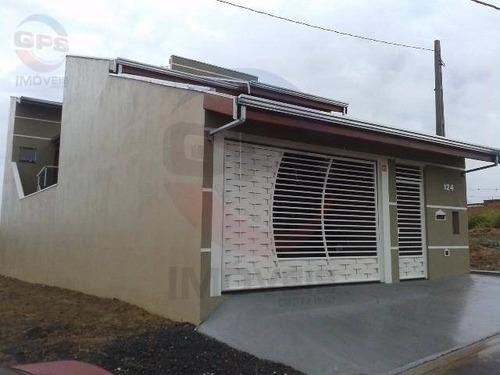 Casa Com 3 Quartos À Venda, 150 M² Por R$ 460.000 - Jardim Residencial Veneza - Indaiatuba/sp - Ca4075
