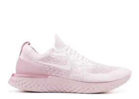 Tenis Nike Epic React Flyknit Pearl Aq0067 600 Original