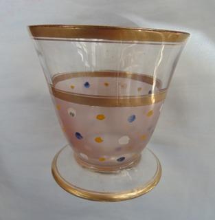 Copa Vintage Cristal Yungay De Colección O Reponer Vajilla