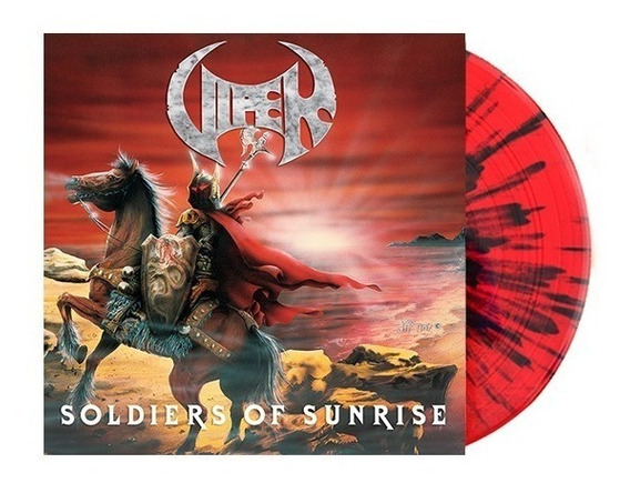 Lp Viper - Soldiers Of Sunrise Vinil Colorido Splatter 2019