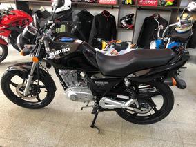 Suzuki En125 Color Negro 0km Año 2019 Financiación Ezeiza
