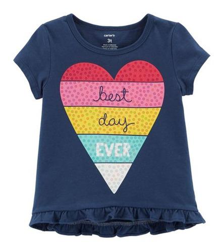 Imagem 1 de 1 de Camiseta Carter's - Best Day Ever