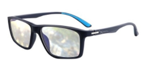 Imagen 1 de 2 de Lentes Xzeal Con Proteccion Blue Light Xzeal Xzagg50a Azul