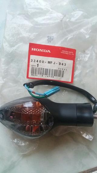 Sinaleira Cbr600rr Dianteira Direita Original Honda 09 Á 12