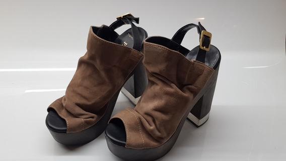 Zapatos Mujer De Gamuza Marca Prune