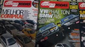 Revistas Quatro Rodas Ano 2002. Mês 7,10,11,12
