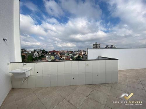 Cobertura Com 2 Dormitórios À Venda, 96 M² Por R$ 280.000,00 - Jardim Ipanema - Santo André/sp - Co0342