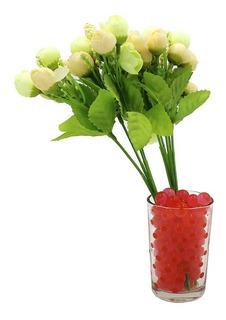 75 Sobres De Perlas De Hidrógel 3gramos C/u Rosas