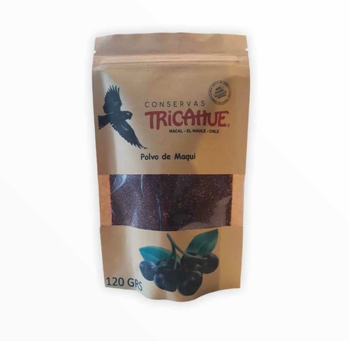 Maqui En Polvo 120 Grs Conservas Tricahue