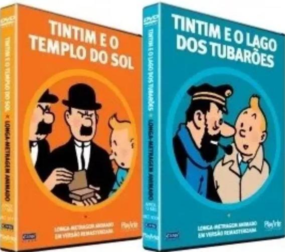 Coleção: As Aventuras De Tintim - 2 Filmes Tintin Originais