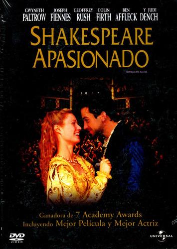 Dvd Shakespeare Apasionado ( Shakespeare In Love ) 1998 - Jo