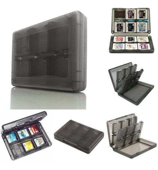 Estojo Case Capa Porta Cartuchos Nintendo Ds 3ds Xl 28 Em 1