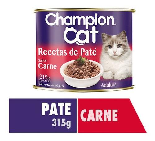 Champion Cat Recetas De Paté Carne 315g
