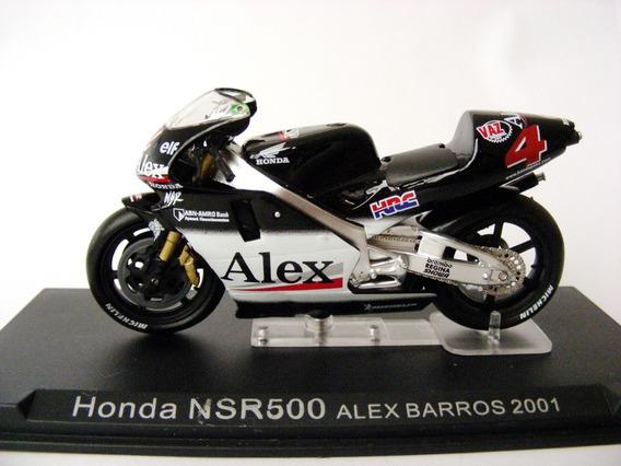 ### Mini Moto Deagostini Honda Nsr500 Barros 1/24 ###