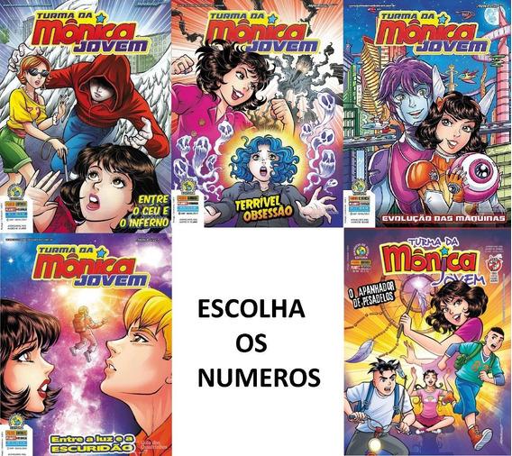 Revistas Turma Da Mônica Jovem - Escolha Os Numeros