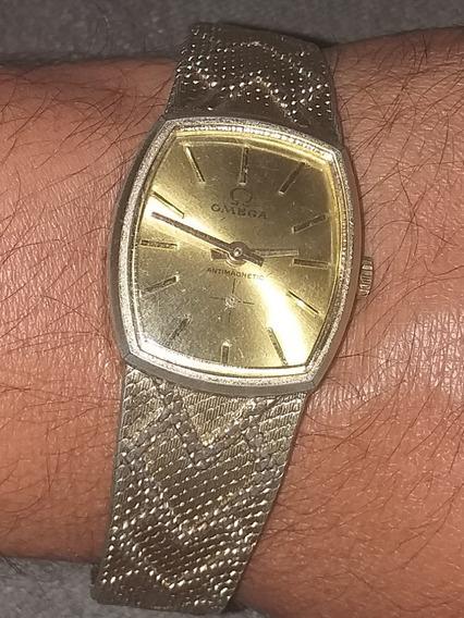 Relógio Omega 18k 0,750 Swiss Antimagnetic Corda Perfeito