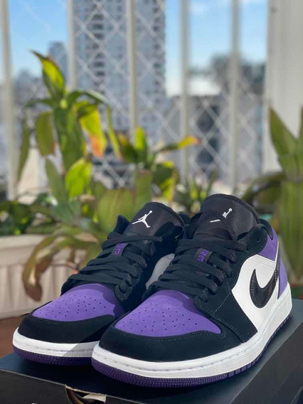 Nike Air Jordan 1 Low Court Purple